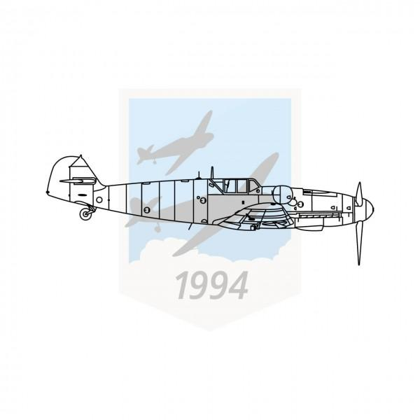 Messerschmitt Me 109 G6 - Seitenansicht